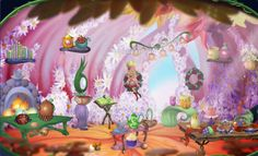 Home of Buttercup Pollenpuff - Pixie Hollow