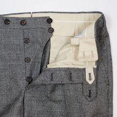 Grey slacks... ;) Xo