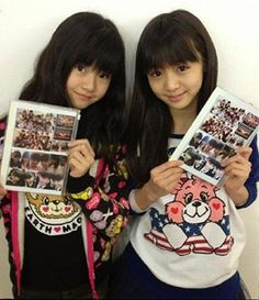Yui and Moa are hair goals af. And the main reason why I want to have proper bangs one day