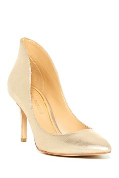 Capital Metallic Leather Pump by Enzo Angiolini on @nordstrom_rack