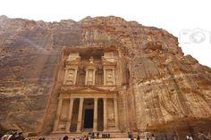 Al Khazneh in Petra - jordan