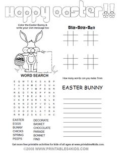Free printables for kids.