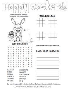 Free printables for kids.