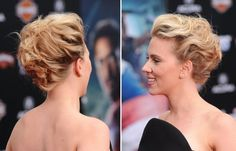 Cute Prom Updo for Short Hair / Prom Hairstyles