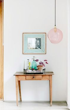 Whimsical and bright nook, decoration inspiration / sfgirlbybay Scandinavian Interior, Home Interior, Interior And Exterior, Interior Decorating, Decoration Inspiration, Interior Inspiration, Design Inspiration, Decor Ideas, Decoration Hall