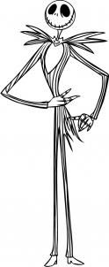 How to Draw Jack Skellington, Step by Step, Halloween, Seasonal, FREE Online Drawing Tutorial, Added by Dawn, January 8, 2008, 4:39:20 am