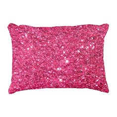 For some reason, the pink glitter is especially popular on this pillow.  Sold again!      - - - Take a look at all my designs at Zazzle!  http://www.zazzle.com/tannaidhe?rf=238565296412952401&tc=MPPin