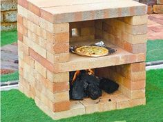 Paradise Outdoor Kitchens For Entertaining Guests Pizza Oven Outdoor, Outdoor Cooking, Garden Yard Ideas, Backyard Projects, Fire Pit Backyard, Backyard Patio, Oven Diy, Outdoor Fire, Outdoor Decor