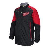 Detroit Red Wings 2015-16 Center Ice Rink Jacket: Part of the 2015-16 Center Ice… #nhl #nfl #mlb #nba #sportsjerseys #sportsapparel