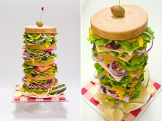 Hyper Realistic Cakes by Former NASA Engineer  One of the most successful sculptures are creation of BethAnn Goldberg since her creations aren't just similar to the original but also they're very delicious. It's hard to believe but these are cakes-sculptures. BethAnn Goldberg is a well-known cakes master.