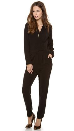 Line & Dot Double Breasted Jumpsuit