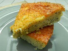 Gâteau au yaourt, citron et pavot
