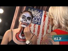 The Purge Anarchy - Make-up Tutorial - YouTube