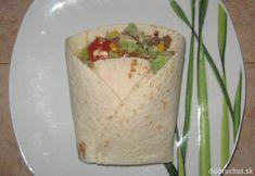 Plnené tortily