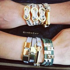 If haven't stopped in to see the jewels Lauren & Sue brought back from Israel ... You must! These wrap bracelets are so cool. We love @michalbenami collection!