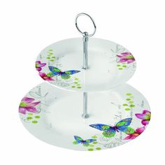 Paperproducts Design 2-Tier Dessert/Tea Server, Aporia Butterfly Paperproducts Design http://www.amazon.com/dp/B00IGRCE4O/ref=cm_sw_r_pi_dp_ui.lub16M5AMT