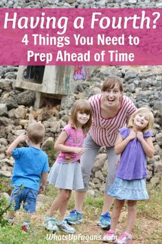 By the time you are having a fourth child, you are pretty much an expert mom! But, there are still things you need to do to get ready for a baby. Good reminder on how to prep for fourth baby (and how it's different from baby #1!)