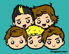 dibujos de one direction - Buscar con Google