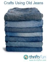 Ideas for what to do with those old jeans.