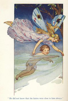 ≍ Nature's Fairy Nymphs ≍ magical elves, sprites, pixies and winged woodland faeries - Harry G. Theaker, The Fairies Were Always Close To Him Gossamer Wings, Vintage Fairies, Believe, Baby Fairy, Beautiful Fairies, Flower Fairies, Children's Book Illustration, Book Illustrations, Fairy Art
