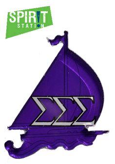 Sigma Sigma Sigma Mascot Magnet