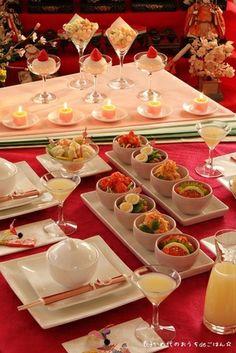 気軽で可愛いひな祭りテーブル 「cotta × かめ代 特別企画」|レシピブログ