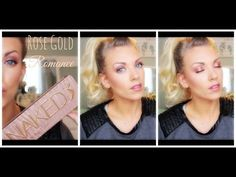 ▶ ❤ Urban Decay NAKED 3 Tutorial: Rose Gold Romance ❤ - YouTube