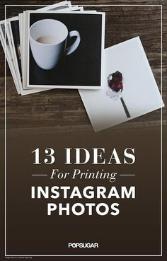 13 Ways to Turn Instagram Photos Into Gifts