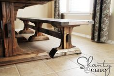 DIY: Furniture Bench