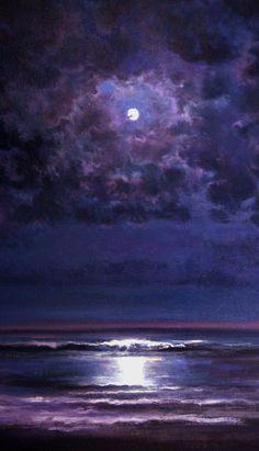 purple blue black