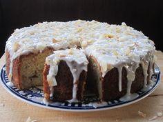 Feijoa coconut cake - dish