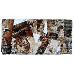 Dámská módní peněženka T312 kávová