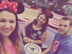 #fbf #flashbackfriday Disneyland with my  mains last weekend   #happiestplaceonearth #disneyland #teacups #madhattersteaparty #happybirthday #StacySeth27 #ears #mywhatbigearsyouhave  by kelllcad