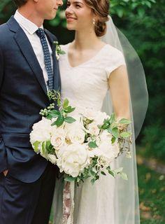 Simple, Elegant Utah Wedding