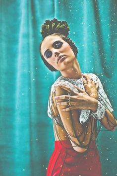 "Kahlo   ""Marquis Montes"" aka Jose Enrique Montes Hernandez and Valérie Boulet #photography"
