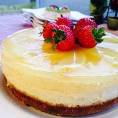 Kremalı Limonlu Cheesecake
