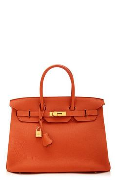 35Cm Hermes Orange H Togo Leather Birkin by Heritage Auctions Special Collections for Preorder on Moda Operandi