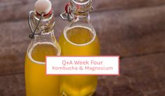 Q+A | What is Kombucha? And is it as good for you as everyone says? | Magnesium and sleep, and do I need a magnesium supplement? Magnesium Supplements, Kombucha, Soap, Wellness, Personal Care, Bottle, Health, Health Care, Personal Hygiene