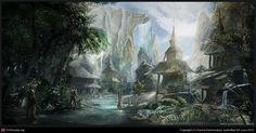 Lost paradise by Darius Kalinauskas | Nature | 2D | CGSociety