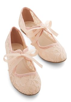 Off-Screen Darling Flat in Petal. The audience loves you on-screen, but your day-off looks are what youre known for! #pink #wedding #modcloth Lace Up Ballet Flats, Lace Up Shoes, Flat Shoes, Pink Flats, Pretty Shoes, Cute Shoes, Wedding Shoes, Prom Shoes, Dance Shoes