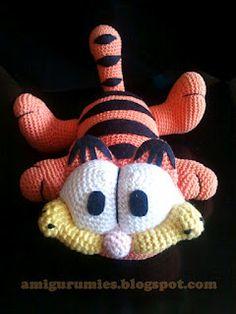 Garfield | AMIGURUMIES