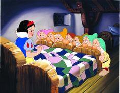 1937 Snow White and the Seven Dwarfs by Walt Disney animation studios. Walt Disney, Disney Love, Disney Magic, Disney Pixar, Disney Characters, Sassy Disney, Disney Songs, Disney Quotes, 7 Dwarfs