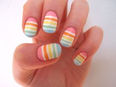 bright summer nail colours - Google Search