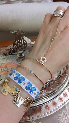 Loom Patterns, Beading Patterns, Beaded Bracelet Patterns, Beaded Bracelets, Loom Beading, Handmade Bracelets, Bangles, Bling, Jewels