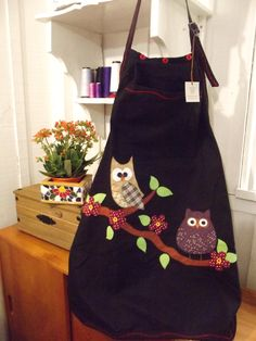 Glorious All Time Favorite Sewing Projects Ideas. All Time Favorite Top Sewing Projects Ideas. Sewing Aprons, Sewing Box, Sewing Clothes, Fabric Crafts, Sewing Crafts, Sewing Projects, Apron Pattern Free, Creation Couture, Kitchen Aprons