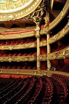 The Paris Opera House.
