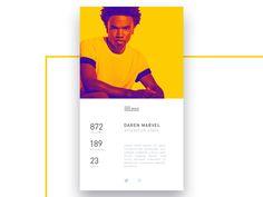 #006 DailyUI / User profile