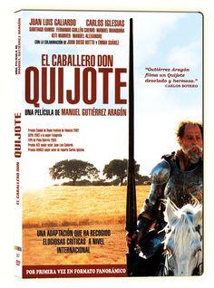El caballero Don Quijote [Vídeo (DVD)] / una película de Manuel Gutiérrez Aragón. 39 Escalones Films, D.L. 2014