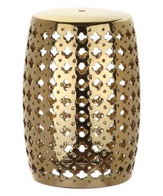 Look what I found on #zulily! Plated Gold Molly Garden Stool by Safavieh #zulilyfinds