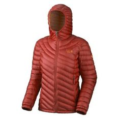 Mountain Hardwear Women's Nitrous Hooded Jacket hot red (Size: L) by Mountain Hardwear. $259.99. down. Season-season: Winter. Jacket-category: Jacket. Jacket-Type: down coat. Equipment-with Hood ✔. Jacket-Coating: Outer Layer water protection. Jacket:category: JacketType: down coatCoating: Outer Layer water protectionSeason:season: WinterMaterial:Over Fabric: 100% PolyesterInner Fabric: 800 goose downProcessing:Stitching Type: stitched foldsEquipment:Outer Pockets: 2 e...